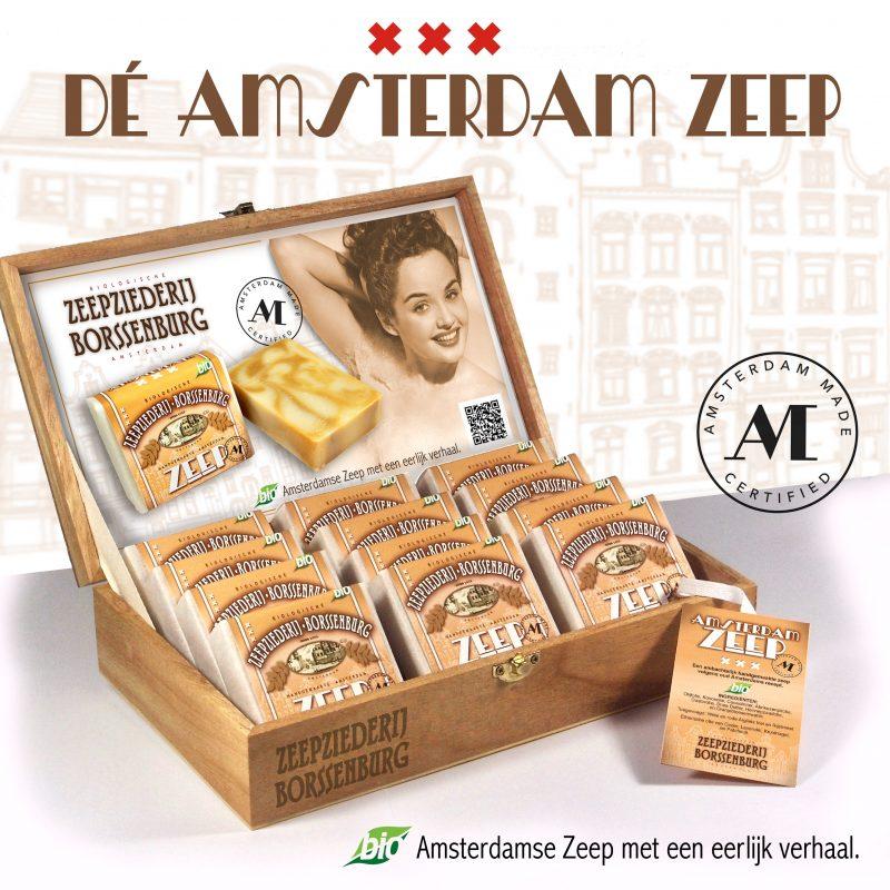 Dé Amsterdam Zeep