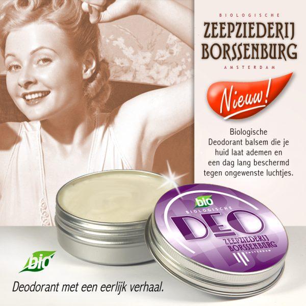 Biologische Deodorant-adv.