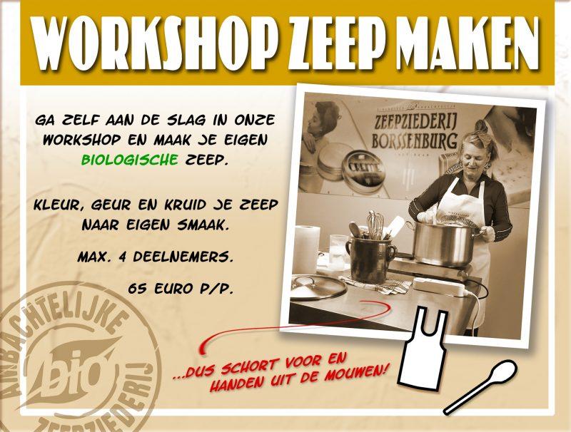 Workshop Zeep Maken